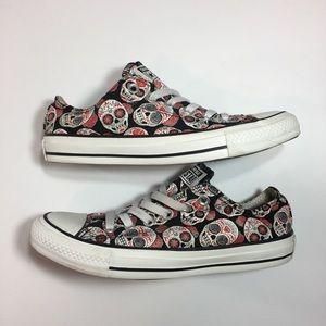 Converse All Star Low Sugar Skull Sneakers